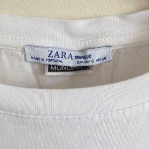 Zara Tops - ZARA Monopoly Luxury Tax Graphic Tee